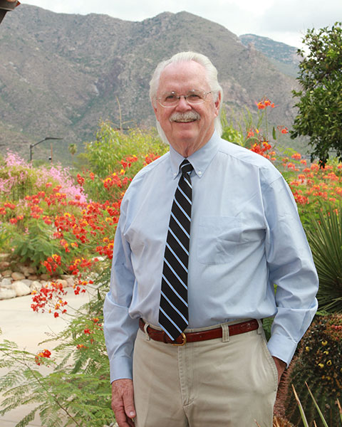 a picture of retired endodontist Dr. John Hughes