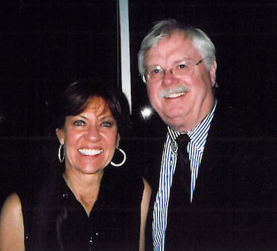 A picture of Dr. John Hughes & his wife Thompson